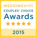Awarded to the Top 5% of Wedding Professionals Nationally and Internationally