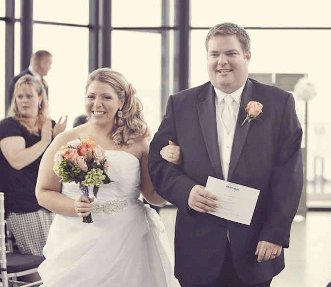 Ben and Tiffany Testimonial for DCF Wedding Music