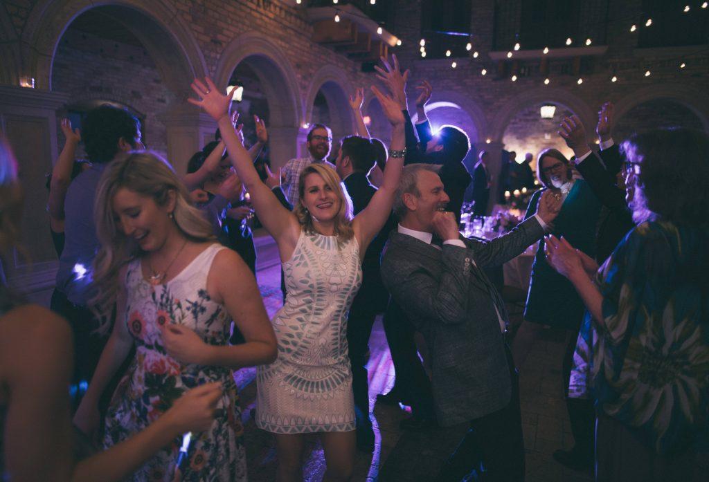 DCF Wedding Music Guests Having Fun