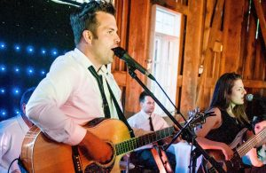DCF Wedding Band Singing a Custom Wedding Song