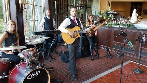 DCF Wedding Music Live Band and DJ Service Performing at St Georges Golf & Country Club, Toronto, ON